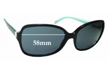 Sunglass Fix Replacement Lenses for Tiffany & Co TF4085-H - 58mm Wide