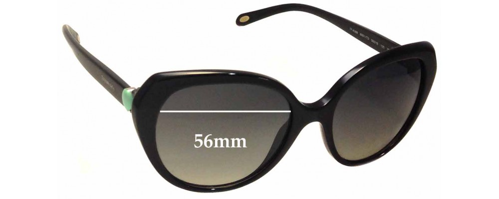 8a8bcbf8a71 Tiffany   Co TF 4088 Replacement Sunglass Lenses - 56mm Wide