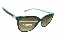 Sunglass Fix Replacement Lenses for Tiffany & Co TF4105-HB - 55mm Wide