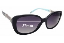 Sunglass Fix Replacement Lenses for Tiffany & Co TF 4106-B - 57mm Wide