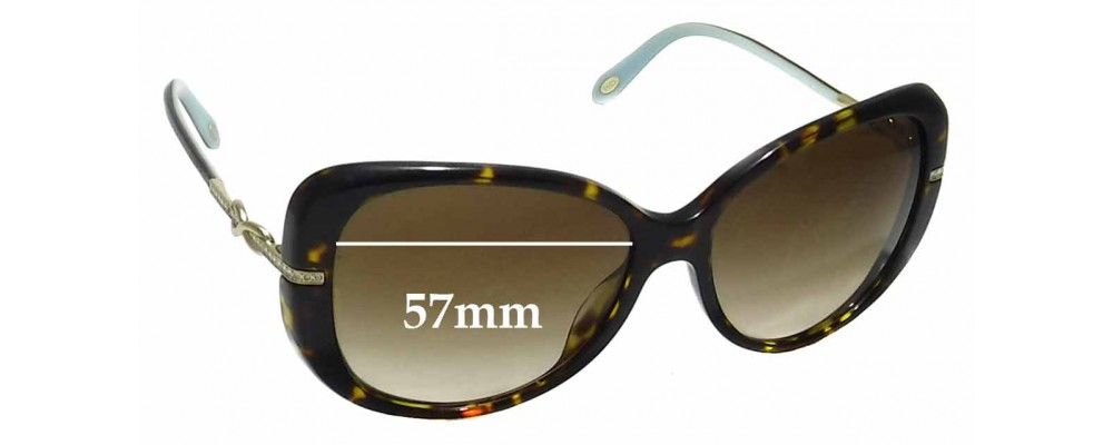 92fe3d82d28 Tiffany   Co TF4126-B Replacement Sunglass Lenses - 57mm wide