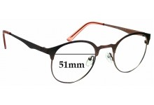Sunglass Fix Replacement Lenses for TIJN 11500 - 51mm wide