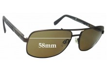 Sunglass Fix Replacement Lenses for Timberland TB9057 Sun RX 09 - 58mm wide