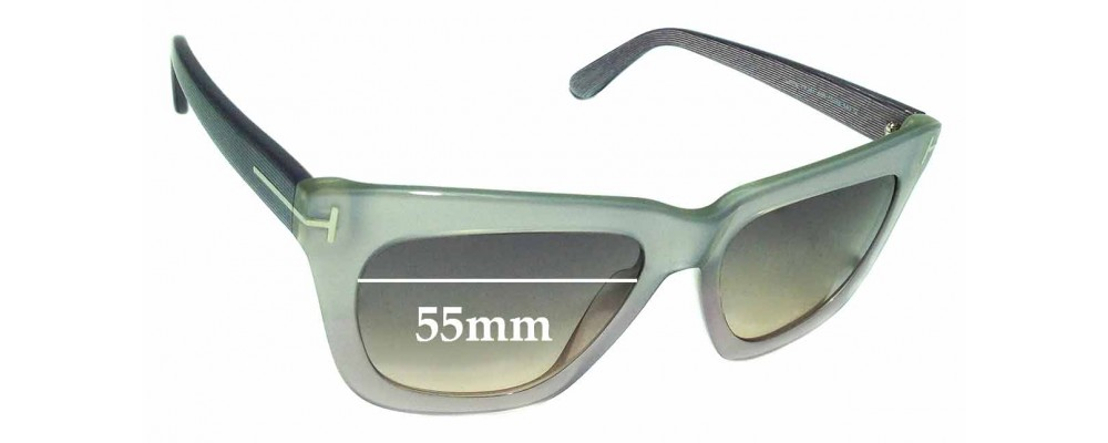 ec63e2b7acaf Tom Ford Celina TF361 Replacement Sunglass Lenses - 55mm Wide