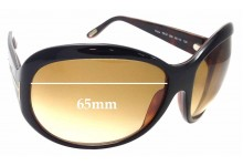 a1691dd5f61 Sunglass Fix Replacement Lenses for Tom Ford Fiona TF47 - 65mm Wide