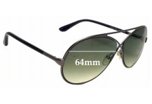 a7e0b906148 Sunglass Fix Replacement Lenses for Tom Ford Georgette TF154 - 64mm Wide
