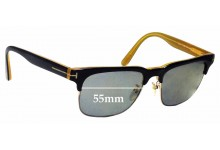 Sunglass Fix Replacement Lenses for Tom Ford Louis TF386 55mm wide