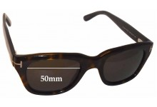 Tom Ford TF237 Snowdon Replacement Sunglass Lenses - 50mm wide