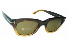 Tom Ford TF5178 Replacement Sunglass Lenses - 50mm wide