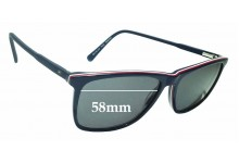 Sunglass Fix Replacement Lenses for Tommy Hilfiger TH 81 - 58mm wide