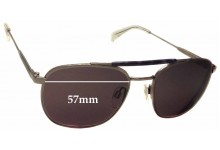 Tommy Hilfiger TH Sun RX 27 Replacement Sunglass Lenses - 57mm wide