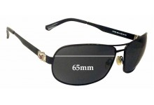 Tommy Hilfiger TH 7379 Replacement Sunglass Lenses - 65mm wide