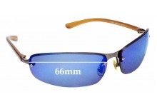 Sunglass Fix Replacement Lenses for Tommy Hilfiger TH 8020 - 66mm wide