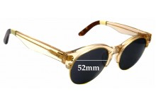 Sunglass Fix New Replacement Lenses for Toms Charlie Rae - 52mm Wide