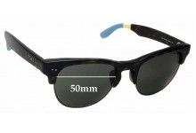 Sunglass Fix New Replacement Lenses for Toms Lobamba S007 - 50mm Wide