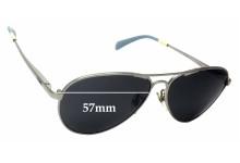 Toms Kilgore S010 Replacement Sunglass Lenses - 57mm Wide