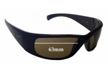 Tonic Spirit Replacement Sunglass Lenses - 63mm Wide