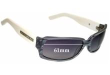 Tony Morgan Replacement Sunglass Lenses - 61mm Wide
