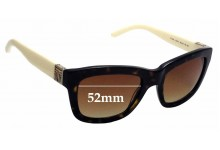 Sunglass Fix New Replacement Lenses for Tory Burch TY7075 - 52mm Wide