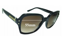 Sunglass Fix New Replacement Lenses for Tory Burch TY7082 - 55mm Wide