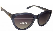 Sunglass Fix New Replacement Lenses for Tory Burch TY7045 - 57mm Wide