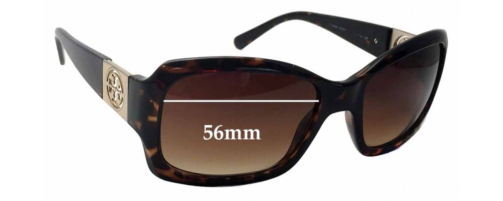 a51b08a197 Tory Burch TY9028 Replacement Sunglass Lenses - 56mm wide