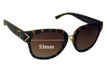 Sunglass Fix New Replacement Lenses for Tory Burch TY9041 - 53mm Wide