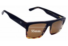 Sunglass Fix Replacement Lenses for Twice Eyewear - 55mm Wide