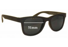 Thorberg Sonja Replacement Sunglass Lenses - 51mm Wide