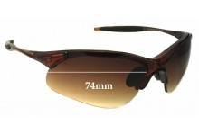 Ugly Fish 7222 Replacement Sunglass Lenses - 74mm Wide
