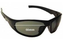 Ugly Fish PE 0330 Replacement Sunglass Lenses - 66mm Wide