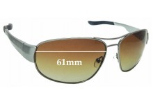 Sunglass Fix Replacement Lenses for Ugly Fish PT24077 - 61mm wide