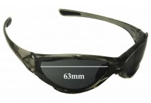 Uvex Challenge Replacement Sunglass Lenses - 63mm wide