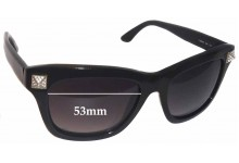 Valentino V 656SR Replacement Sunglass Lenses - 53mm Wide