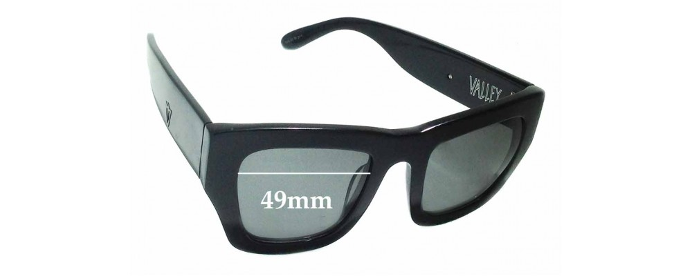 Valley City Sabbath Replacement Sunglass Lenses - 49mm wide