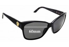 Sunglass Fix Replacement Lenses for Versace MOD 4277 - 60mm Wide