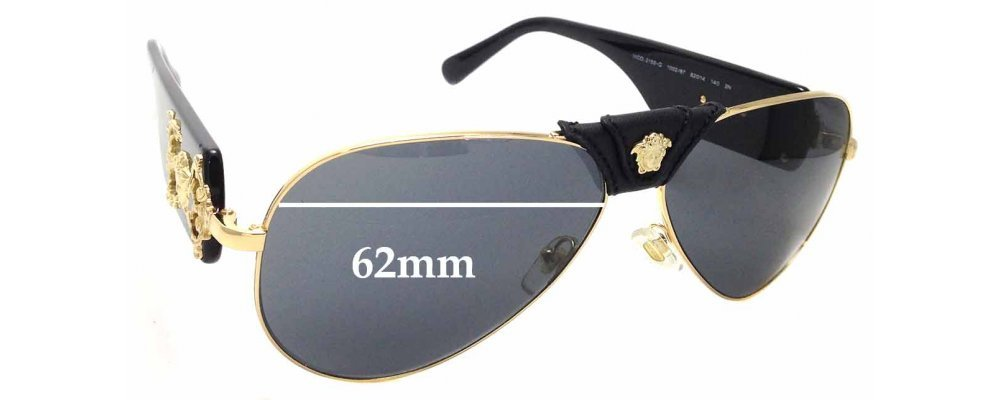 By The Sunglass 65mm Fix™ Mod Versace Wide Qreplacement Lenses 2150 7vgybYf6