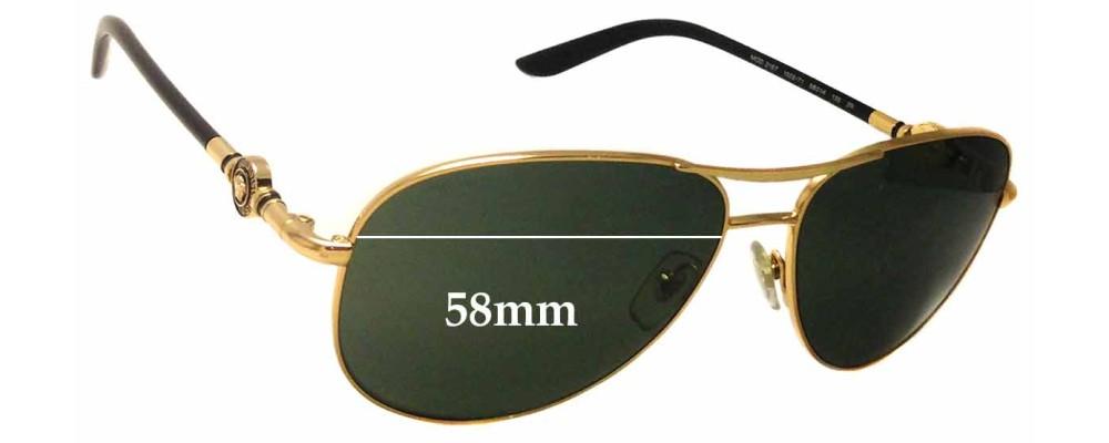 SFX Replacement Sunglass Lenses fits Versace MOD 4174 61mm Wide