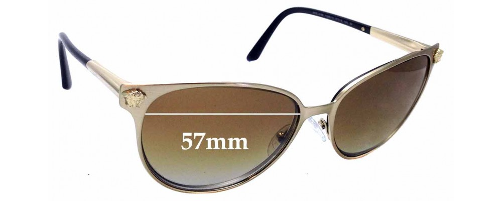 52521b1241c1 Versace MOD 2168Replacement Lenses 60mm Wide by The Sunglass Fix™