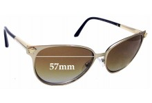 Sunglass Fix Replacement Lenses for Versace MOD 2168 - 57mm wide