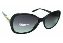Sunglass Fix Replacement Lenses for Versace MOD 4271-B 58mm wide