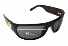 Versace MOD 4276 Replacement Sunglass Lenses - 63mm Wide