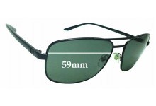 Sunglass Fix Replacement Lenses for Versace Mod 2153 - 59mm wide