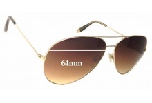 Victoria Beckham 0157 Replacement Sunglass Lenses - 64mm wide