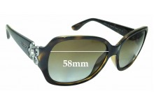 Sunglass Fix Replacement Lenses for Vogue VO2778-S-B - 58mm Wide
