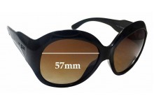 Sunglass Fix Replacement Lenses for Vogue VO2565-S-B - 57mm Wide