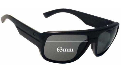 Von Zipper Gatti Replacement Sunglass Lenses - 63mm wide