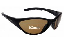 Sunglass Fix Replacement Lenses for Wiley X *UNKNOWN* - 62mm Wide