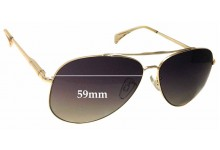 Witchery Malia Replacement Sunglass Lenses - 59mm wide
