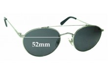 Sunglass Fix Replacement Lenses for Wonderland Indio - 52mm wide